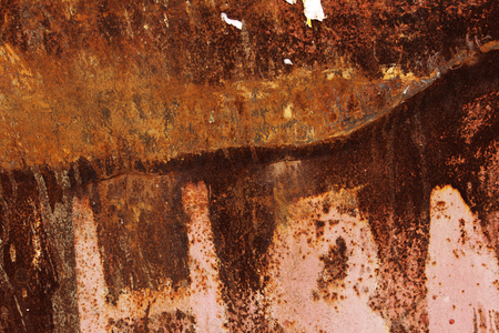 fragment of a rusty abstract background, stock image Stock Photo