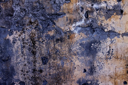 Background from high detailed fragment stone brown wall