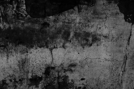 Grunge texture, wall in a black and white tone