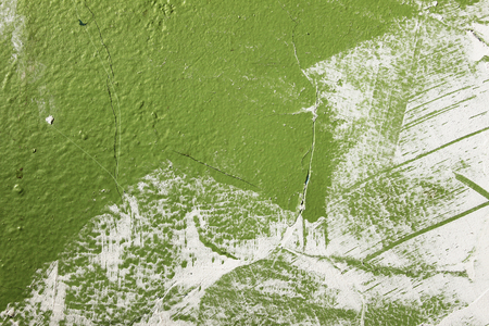 The Background from high detailed fragment stone green wall Imagens