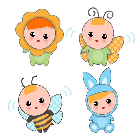Baby animal Vector Isolated Illustration Illustration