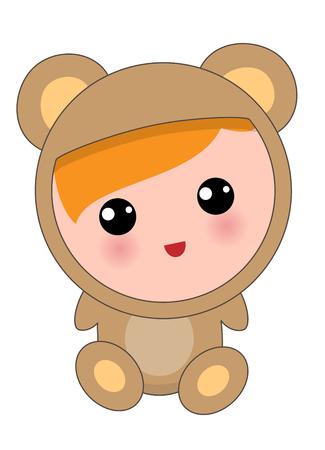 Baby animal Isolated Illustration
