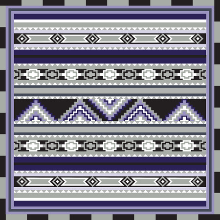 mexican background: Geometrical abstract pattern from decorative ethnic ornament elements .  African, Mexican, Turkmen texture (background) for packing, textile, interior, web design.