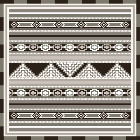 geometrical pattern: Geometrical abstract pattern from decorative ethnic ornament elements .  African, Mexican, Turkmen texture (background) for packing, textile, interior, web design.