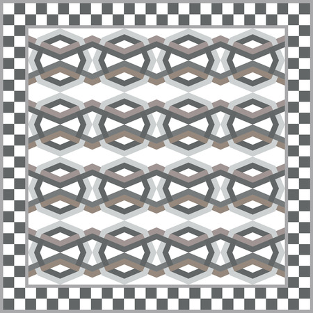 interior cell: Art vintage abstract seamless pattern
