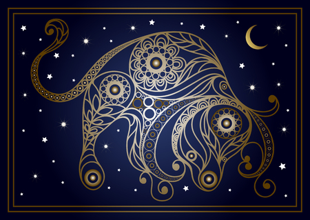Decorative zodiac sign Taurus