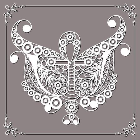 Graphic abstract design with occult symbol. Masonic (freemasonic) drawing. Çizim