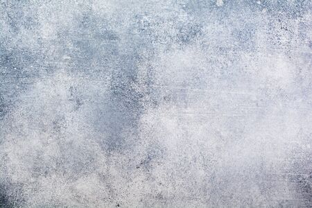 Light grey stone or slate wall.Grunge background.Top view. 写真素材