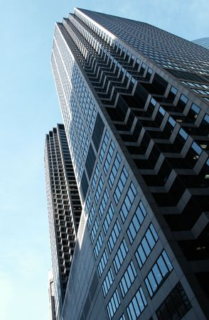 intresting: Highrise tower in downtown Chicago Stock Photo