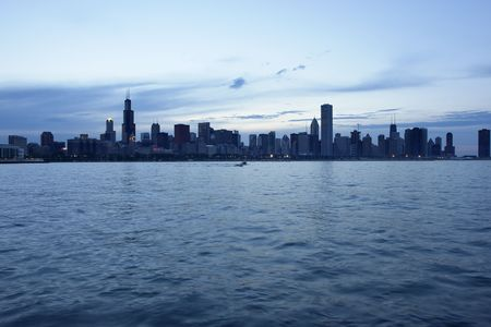 View of downtown Chicago. Stock Photo - 445820