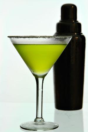 martini shaker: martini with shaker