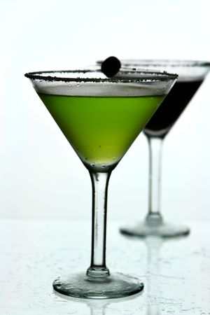 martini glass drinks photo