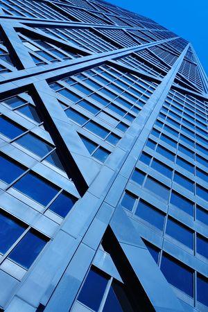intresting: downtown skyscraper