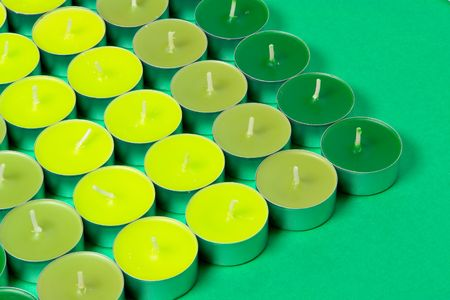 grouping: Grouping of green candles