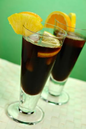 chilled: Chilled Coffee Caribbean Served