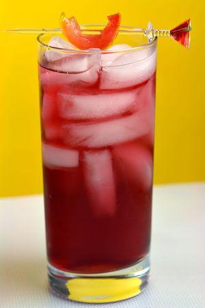 Woo Woo Cocktail in Highball glass photo