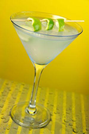copa martini: White Lady Martini en Vidrio