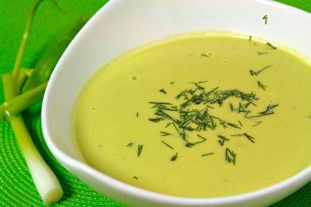heals: Fresh Pea Soup Served