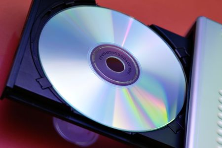 Open CD Player with cd