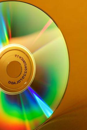 Close-up of a CD