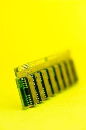 Memory card close up photo
