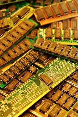 Pile of memory cards background 版權商用圖片
