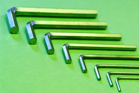 Hex nut wrenches photo