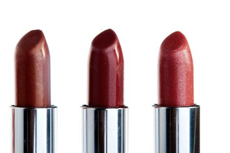 Three Lipsticks in a row