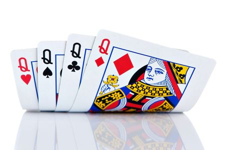 Quatre d'une sorte de reines