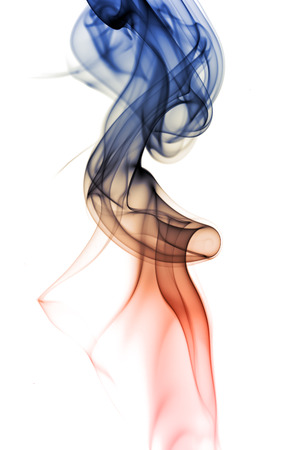 Abstract smoke in white background Imagens - 1380064