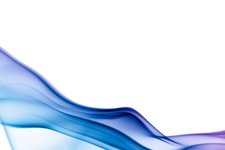 Abstract smoke on white background Stock Photo