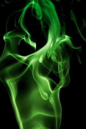 Résumé de fumée sur le fond blanc Banque d'images - 1440298