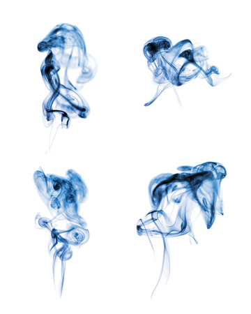 Abstract smoke on white background Zdjęcie Seryjne