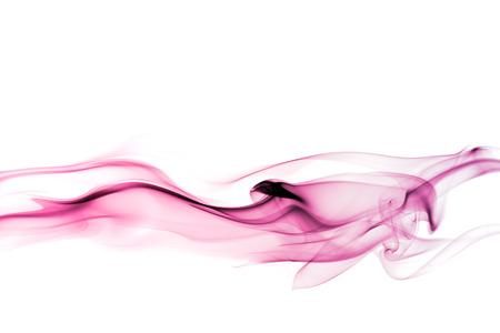 fluids: Abstract smoke isolated on white background Stock Photo