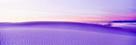 white sands national monument: White Sands National Monument Park Stock Photo