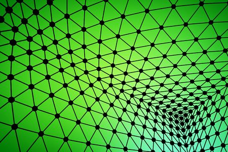 Green Abstract dynamic web background