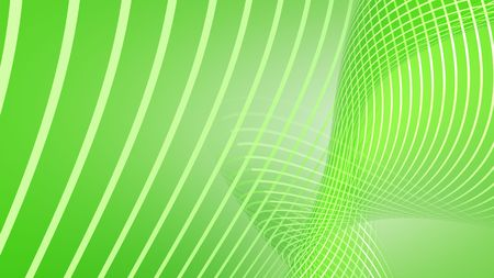 Green abstract background 3d render Imagens