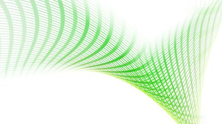grid: Green abstract background 3d render Stock Photo