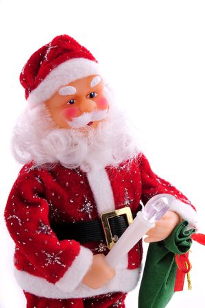 Santa Claus isolated on the white background Stock Photo - 5711774