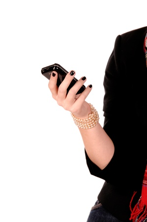 Hands with a mobile phone Stock Photo - 8574828