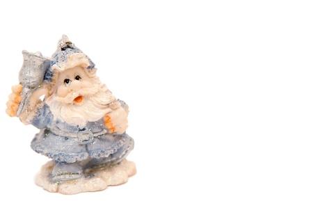 Santa Claus on the white background Stock Photo - 10299590