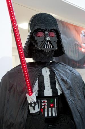 Star Wars fans rally, Poland, Torun, September 10, 2011, Darth Vader Stock Photo - 10544132