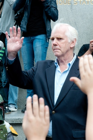 Jeremy Bulloch - Boba Fet in Star Wars. Star Wars fans rally, Poland, Torun, September 10, 2011. Stock Photo - 10544129