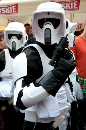 Star Wars fans rally, Poland, Torun, September 10, 2011 Stock Photo - 10622834