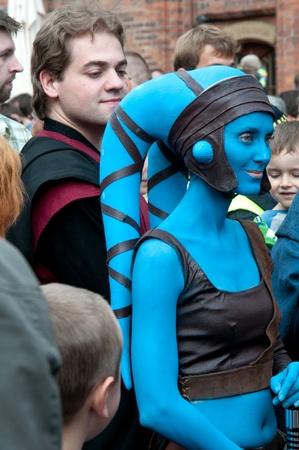 starwars: Star Wars fans rally, Poland, Torun, September 10, 2011 Editorial