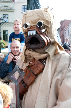 Star Wars fans rally, Poland, Torun, September 10, 2011 Stock Photo - 10622837