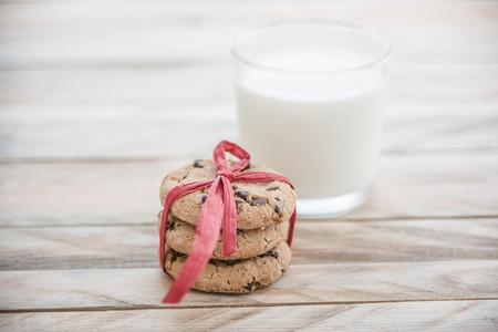 Ciasteczka i mleko