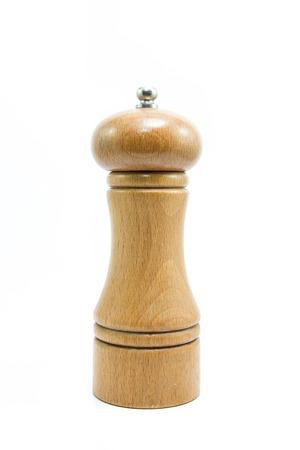 pepper grinder: pepper grinder isolated on white background