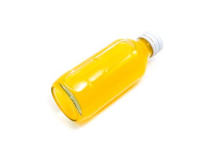 juice bottle: orange juice bottle isolated on white background