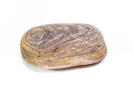 sedimentary: sedimentary rock isolated on white background